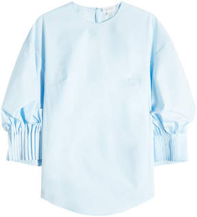 DELPOZO Pintuck Cuff Shirt