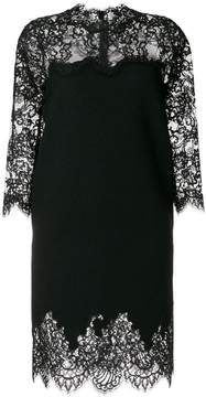 Ermanno Scervino slim laced dress