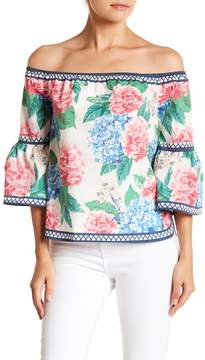Flying Tomato Floral Off The Shoulder Top