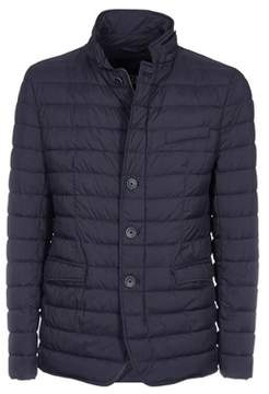 Herno Men's Blue Polyamide Down Jacket.