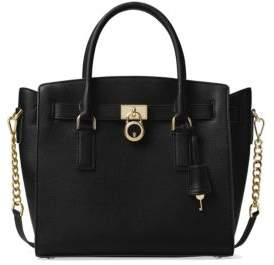 MICHAEL Michael Kors Hamilton Large Leather Satchel - ACORN - STYLE