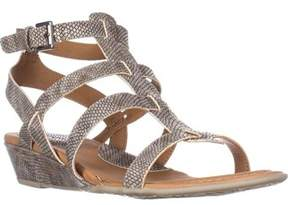 b.ø.c. Womens Heidi Open Toe Casual Platform Sandals.