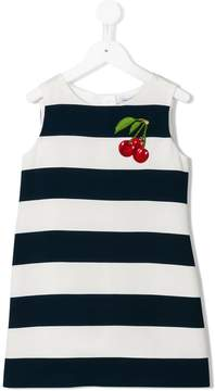 Dolce & Gabbana cherry patch dress