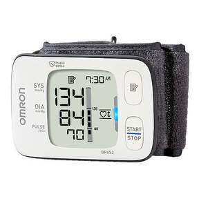 Omron 7 Series Wrist Blood Pressure Monitor, Model BP652