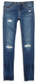 Blank NYC Girl's Distressed High Dive Jeans