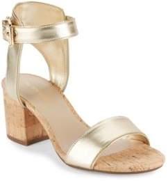 Saks Fifth Avenue Helaine Cork Sandals