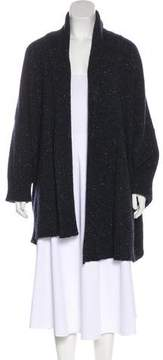 eskandar Wool & Cashmere Open Front Cardigan