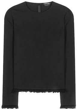 Tom Ford Wool and cotton top