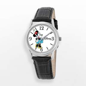 Disney Disney's Minnie Mouse Women's Leather Watch