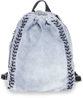 3.1 Phillip Lim Women's Go-Go Medium Washed Denim Backpack