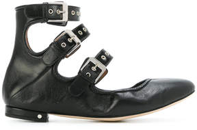 Laurence Dacade buckle ballerina shoes