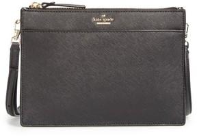 Kate Spade Cameron Street Clarise Leather Shoulder Bag - Black - BLACK - STYLE