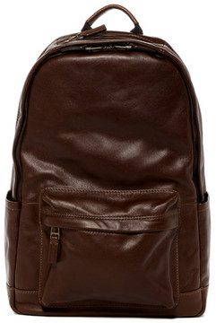 Fossil Defender Leather Backpack