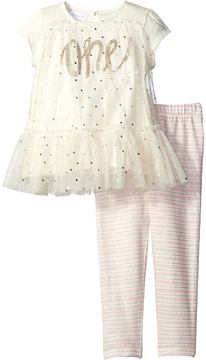 Mud Pie One Tunic and Leggings Set Girl's Suits Sets