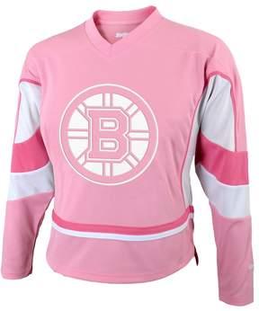 Reebok Girls 7-16 Boston Bruins Fashion Jersey