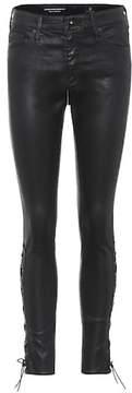 AG Jeans The Farrah high-waisted trousers