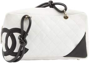 Chanel Leather bowling bag