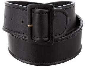 Acne Studios Leather Buckle Belt