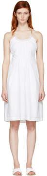 3.1 Phillip Lim White Gathered Cotton Dress