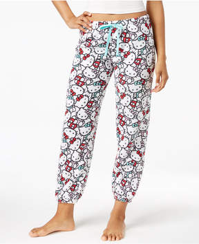 Hello Kitty Plush Jogger Pajama Pants