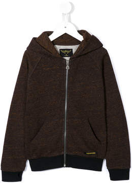 Finger In The Nose marled zip-up hoodie