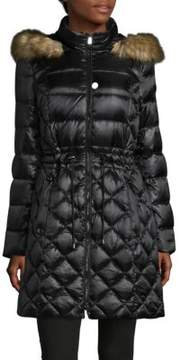 Dawn Levy Kourtney Faux Fur-Trimmed Puffer Jacket
