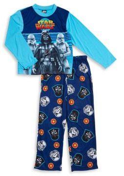 AME Sleepwear Little Boys and Boys Star Wars Character Pajamas Set