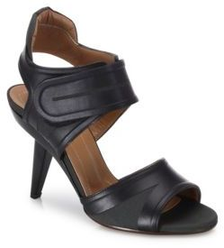 Marni Grip-Tape Leather Sandals