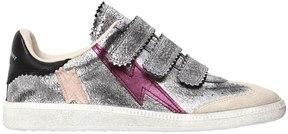 Isabel Marant 20mm Beth Metallic Leather Sneakers