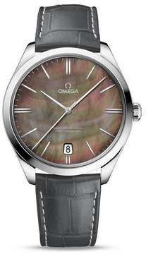 Omega De Ville Tresor Tahiti Mother Of Pearl Dial Men's Watch