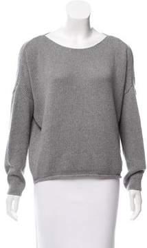 Enza Costa Cashmere-Blend Oversize Sweater