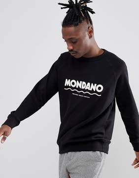 Wood Wood Mondano Sweatshirt With Large Logo