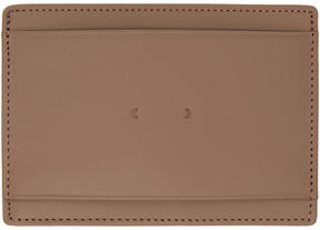 Pb 0110 Taupe CM 9 Card Holder
