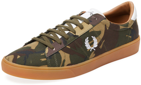 Fred Perry Men's Spencer Camo Low Top Sneaker