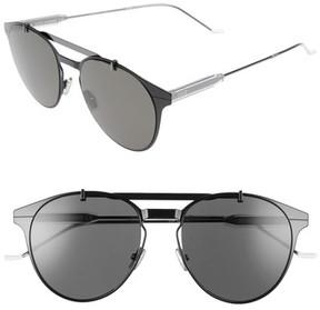 Christian Dior Men's Motion 53Mm Sunglasses - Black