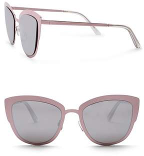 Quay Women's Super Girl 51mm Cat Eye Sunglasses