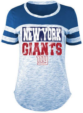 5th & Ocean Women's New York Giants Space Dye Foil T-Shirt