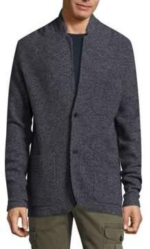 Michael Bastian Deconstructed Long-Sleeve Jacket