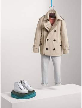 Burberry Tropical Gabardine Trench Jacket