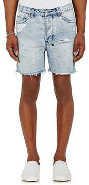 Ksubi Men's Dagger Dan Distressed Denim Shorts