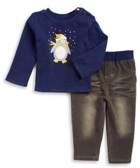 Absorba Baby Boy's Two-Piece Shirt and Pants Set