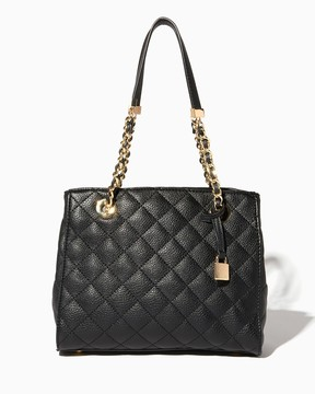 Charming charlie Tomina Quilted Satchel