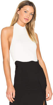 CHRISTOPHER ESBER Tie Back Bib Halter Top