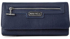 Nautica Above Board Boxed Continental Wallet - Navy
