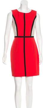 Ellen Tracy Paneled Mini Dress