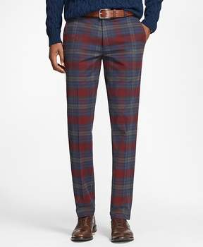 Brooks Brothers Milano Fit Tartan Stretch Pants