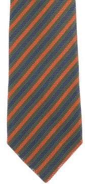 Charvet Jacquard Striped Silk Tie