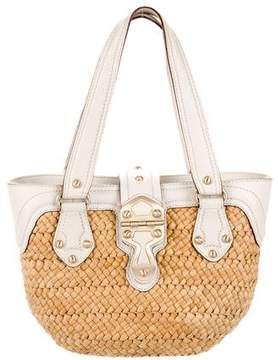 MICHAEL Michael Kors Santorini Straw Shopper Bag