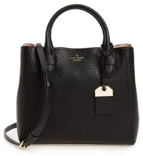 Kate Spade New York Carter Street - Devlin Leather Satchel - Black