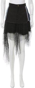 Rodarte Layered Midi Skirt